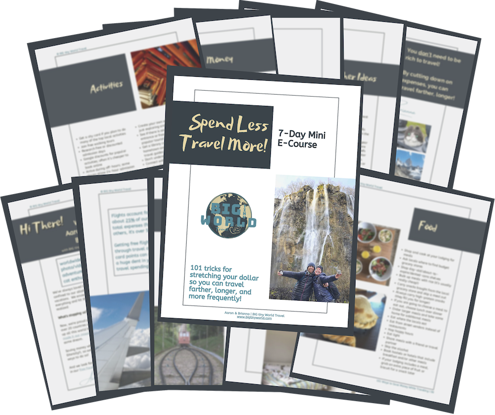 Spend Less Travel More! Handouts Preview